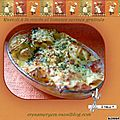 Ravili à la riccota et tomates cerise au gratin