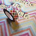 affichage making tape -Marimerveille