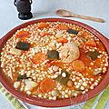Aich , berkoukes, mhamssa (plat algèrien)