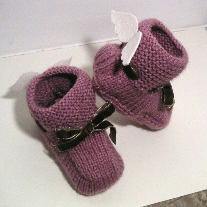 chaussons pour petite ange
