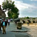 Le pont Neuf depuis le quai des Grands Augustins.