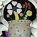 Fleurs dans un vase à offrir pour le fête de la femme