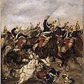 Dupray, charge des dragons Bachelier à Rezonville, 1873