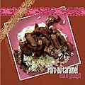 Porc au caramel (recyclage) (reste de porc - recette anti gaspi)