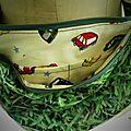 detail doublure sac pelouse