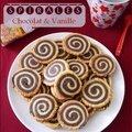 Spirales choco-vanille