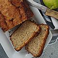 Cake au yaourt au citron et poudre de noisette