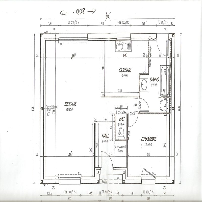 Plan De Maisons Castor  Photo De Plans De La Maison  Construction