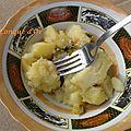 Pommes de terre gratinées au parmesan et persil
