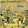 Les canadiens à vimy
