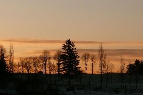 2008 11 24 Le levé du soleil