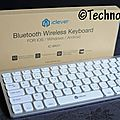 Test du <b>clavier</b> Bluetooth IC-BK01 d'iClever