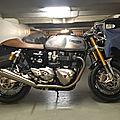 L'aboutissement : <b>Triumph</b> Thruxton 1200R