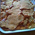 Muffin aux pommes et son crumble
