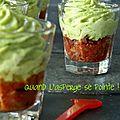 Mousse d'asperges aux tomates séchées