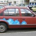 La voiture de zaza
