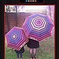 Look mère/fille haut en couleurs même sous la pluie avec <b>Little</b> <b>Marcel</b>
