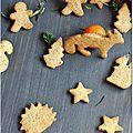 ☆ calendrier de l'avent : 1 surprise par jour ☆ jour 9 : la forêt enchanté des biscuits de noël à la clémentine