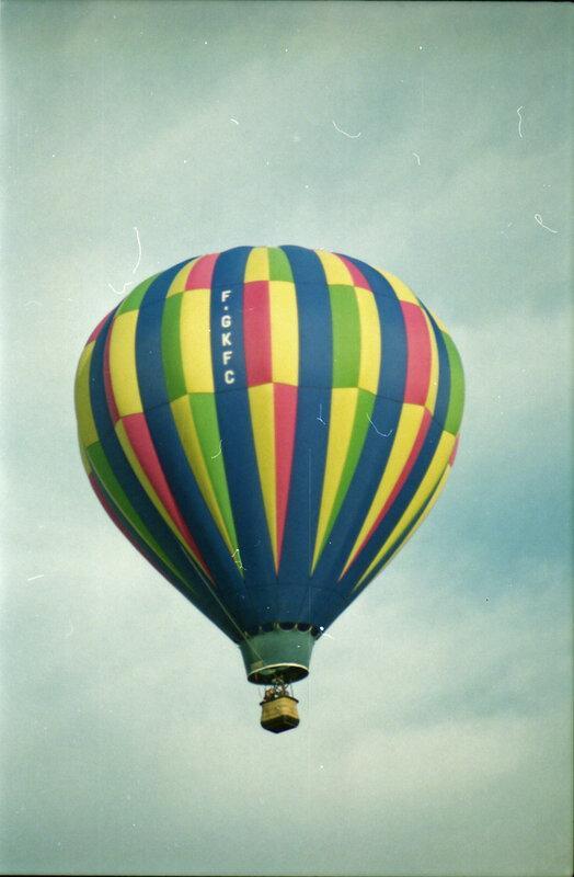 P 94 07 Montgolfières à Sablé le 26 juin 1994 + 40 ans de Jean-Paul le 1er juillet 11
