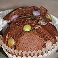 Muffins au lait fermenté et chocolat
