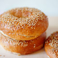 A real taste of ny: bagels