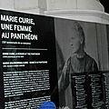 Visite au panthéon partie 1 : l'expo de marie curie