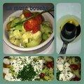 *salade concombre, avocat,tomate cerise....et compagnie!*