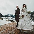 Robe de mariée d'hivers