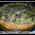 Pizza facon quiche...