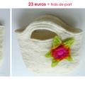 Ina - sac en laine feutrée