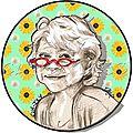 Les lunettes d'eva joly - caricature