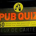 Pub quizz