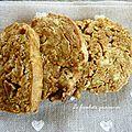 Croquants pesto pistaches