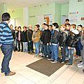 Visite du collège 2014