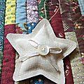 Une étoile pour mon sapin...