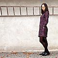 La robe <b>raglan</b> - Défi jacquard