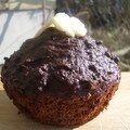 Gâteau chocolat courgettes (de clotilde)