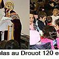Belle mobilisation pour la St Nicolas au Drouot !!!