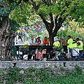 Les villageois ont fêté la <b>place</b> du Salet jusque tard dans la nuit