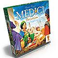 Boutique jeux de société - Pontivy - morbihan - ludis factory - Medici jeu de cartes