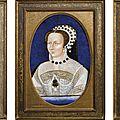 France, Limoges, XIXe siècle, à la manière de Léonard Limosin (1505-1575), Un gentilhomme ; Elisabeth de Valois (1545-1568)