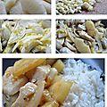 Poulet simplissime aux ananas
