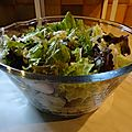 Salade de batavia et de <b>chou</b> <b>chinois</b>