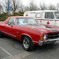 Chevrolet el camino SS (23ème Salon Champenois du véhicule de collection)