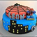 <b>Spiderman</b> <b>Cake</b>