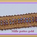 Mille pattes gold