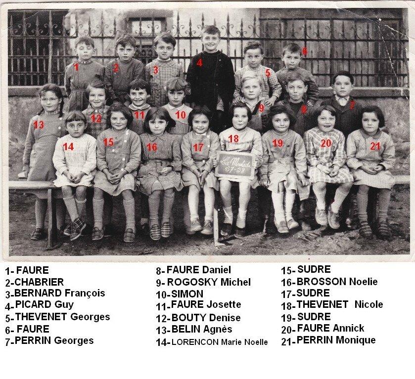 1957-1958 petits
