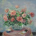 Lê <b>Ph</b>ổ (1907 – 2001), Floral still life