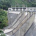 Chalvignac, barrage de l'Aigle, profil