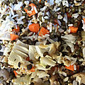 Salade de riz et de graines